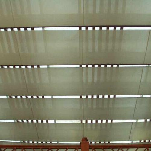 上海乐朗电动天棚帘06图片