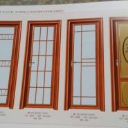 防水玻璃门图片