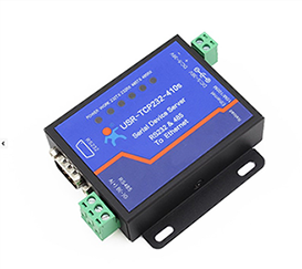 有人串口服务器 串口转以太网 RS232/485转网络 双向透传 网口转串口