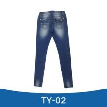 TY-02 牛仔裤 牛仔长裤 修身牛仔裤 紧身牛仔长裤 休闲牛仔长裤