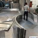 圆弧形包柱铝单板图片