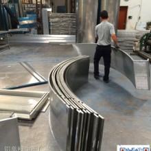 圆弧形包柱铝单板 仿木纹色包柱铝单板厂家  圆弧形包柱铝单板报价