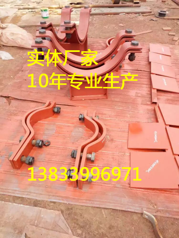 202加强焊接吊板 拉杆 耳子 六角扁螺母 恒力弹簧支吊架