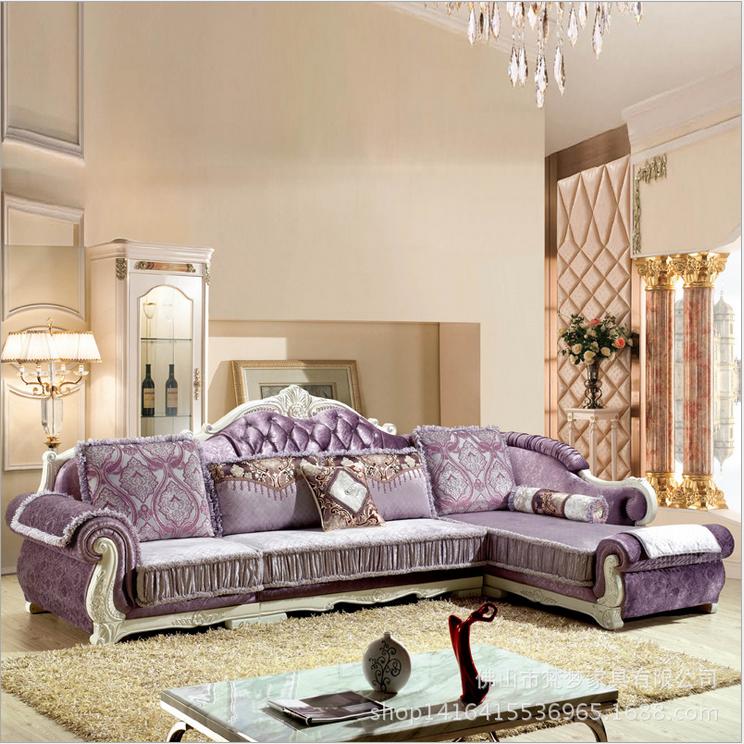欧式布艺沙发图片|欧式布艺沙发样板图|欧式布艺沙发