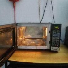 廚房小家電微波爐圖片