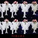 PVC蕾丝婚庆 PVC蕾丝婚庆道具厂家供应 婚庆道具现货报价