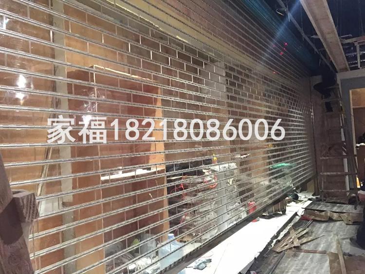 深圳皇岗水晶卷闸门卷闸门安装电动卷帘门欧式卷帘门