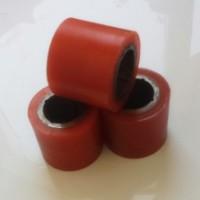 厂家供应优质耐磨   聚氨酯包胶轮PU包胶轮    非标定制