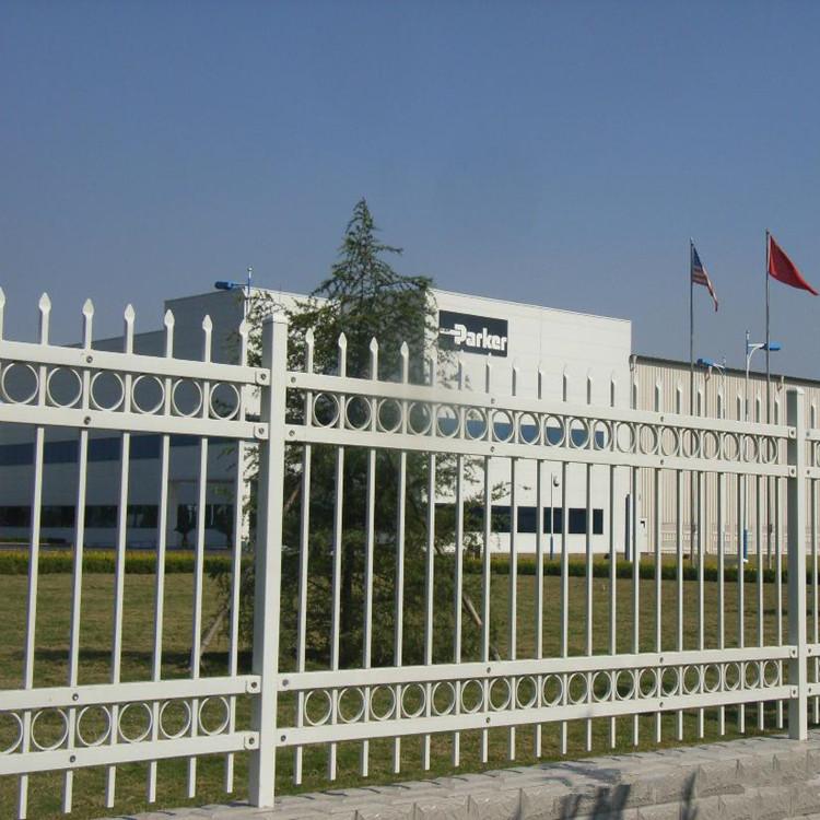 别墅围墙护栏 不锈钢护栏 庭院围栏 锌钢护栏铁艺护栏 锌钢护栏网