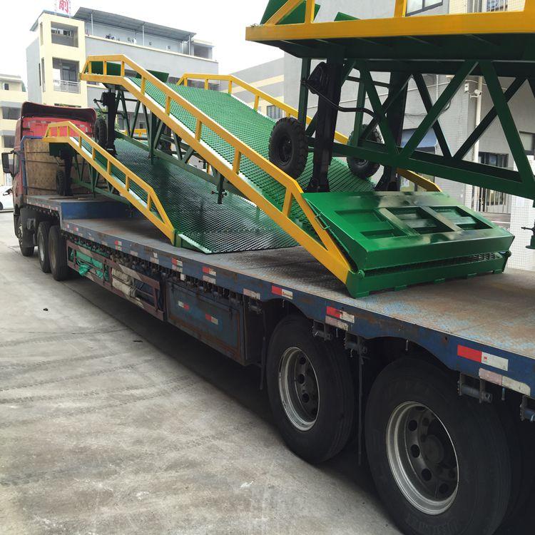 供应清城集装箱移动登车桥供货商登车桥厂家批发安装