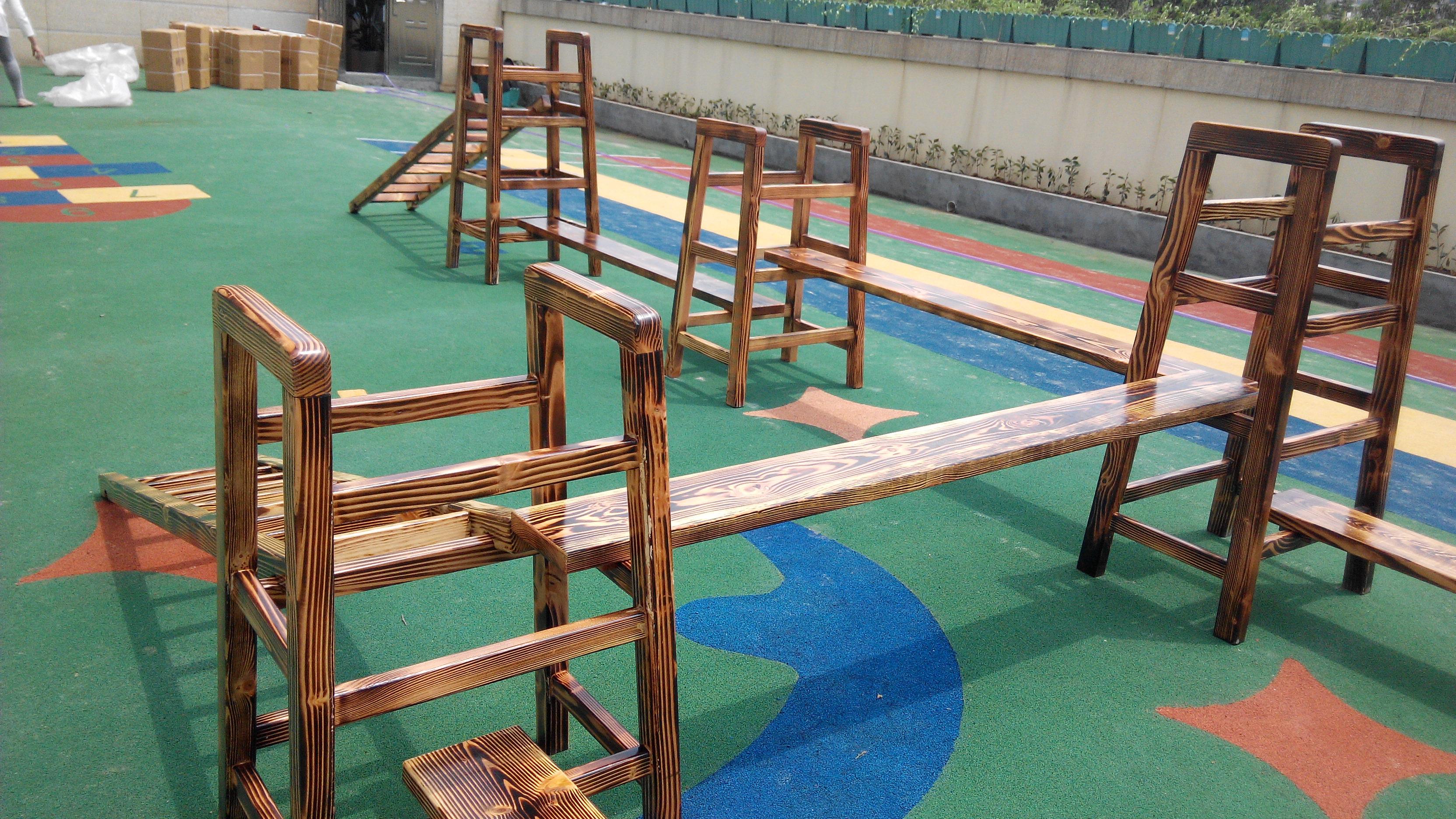 幼儿园玩具、幼儿园滑滑梯、积木