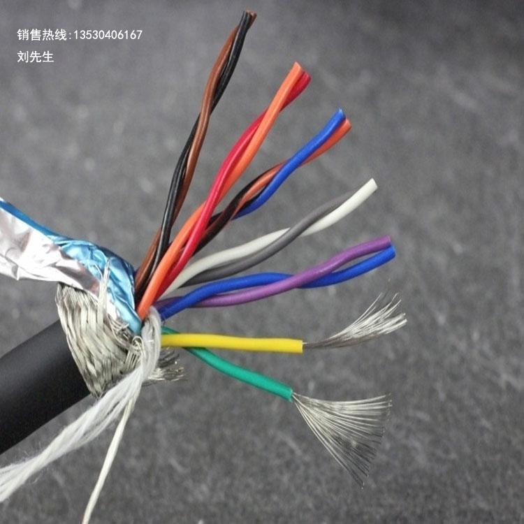 高柔性电缆厂家、12芯拖链电缆、伺服电机专用电缆线