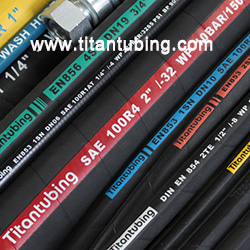 sae100r4高压胶管厂家  sae100r4吸排油橡胶软管 橡胶高压胶管厂家  橡胶高压软管