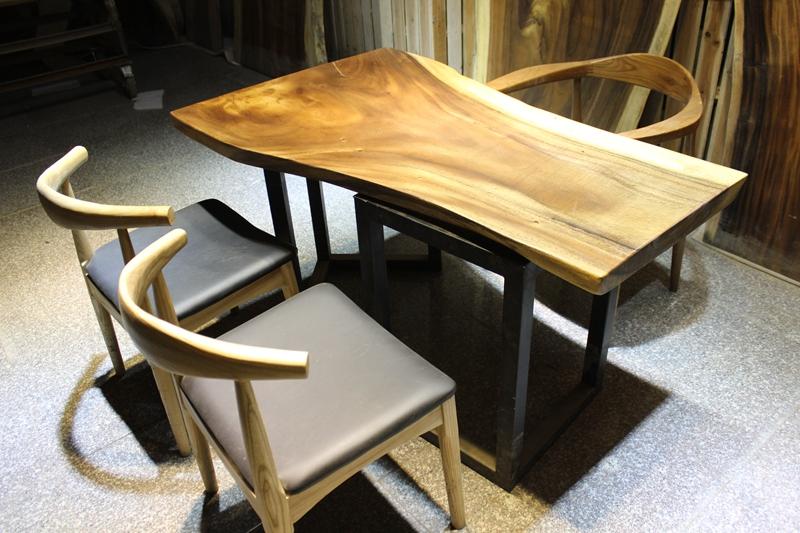 胡桃木电视柜实木电视柜简约客厅组合茶几家具新中式