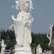 石雕观音石佛像雕塑图片