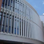型材铝百叶格栅装饰材料供应品牌,遮阳铝合金百叶窗生产厂家