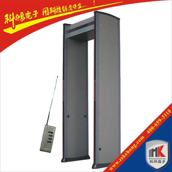 供应安检门、金属防盗安检门、AT-IIID安检门、四排门柱灯