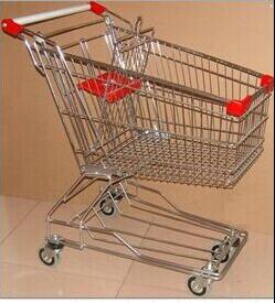 厂家批发超市豪华购物车 人字脚购物车 线脚购物车 电梯轮购物车