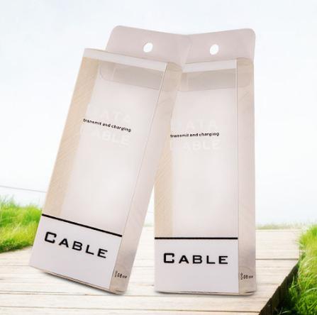 USB手机数据线包装盒 安卓小米数据线包装盒  厂家批发USB手机数据线包装盒