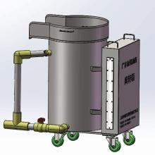 手推型可移动油水分离器、指定换证名单产品、上海食安办网上备案图片