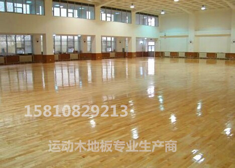 体育木地板 实木运动地板