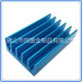 佛山厂家定制挤压散热器铝型材 散热器铝合金阳极氧化 铝制品深加工 精密CNC加工