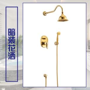 上海星级酒店淋浴花洒套装工程施工图片