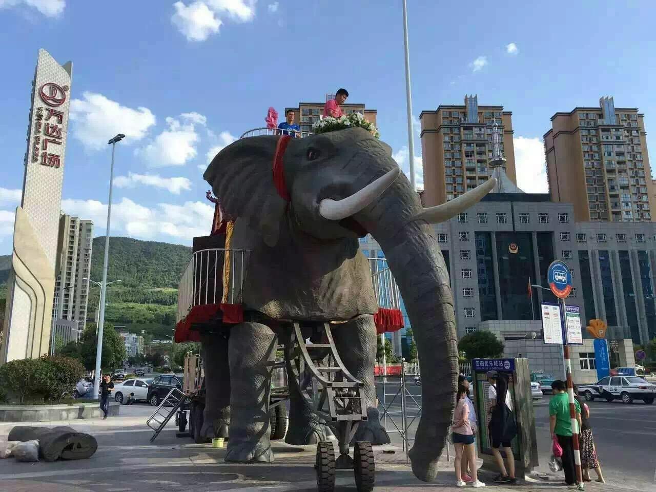 商业巡展机械大象租赁机械大象出租销售