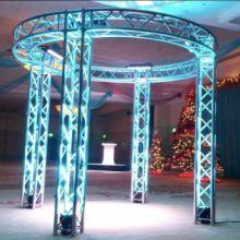 厂家批发四柱舞台设备/用于演出活动的铝合金舞台设备生产厂家批发