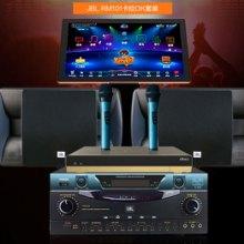 JBL RAM220 RM101卡拉OK音响套装家用KTV音箱专业功放唱歌点歌机家庭影院 家庭KTV音响音箱套装家用卡拉批发