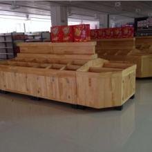 木質水果堆頭木質干果架 高檔散裝涼果架圖片