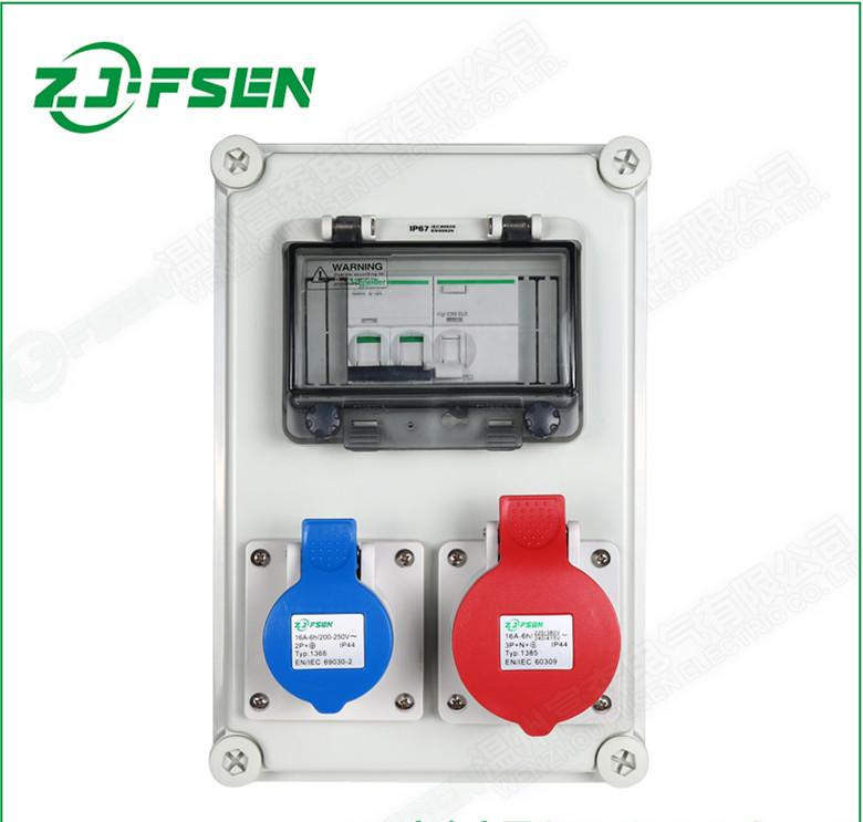 供应工业插座配电箱 插座配电箱检修箱插座箱