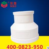 厂家供应PVC同心异径接头 钢度值低PVC管件接头