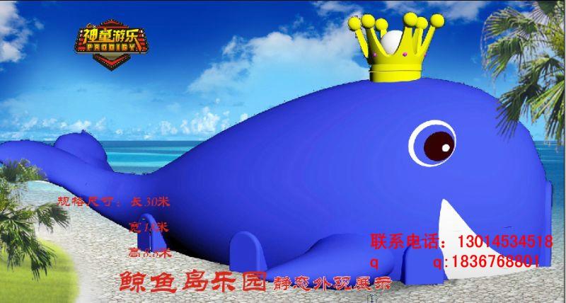 室外新型游乐                          鲸鱼儿童乐园