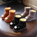 儿童中筒雪地靴代理一手货源图片