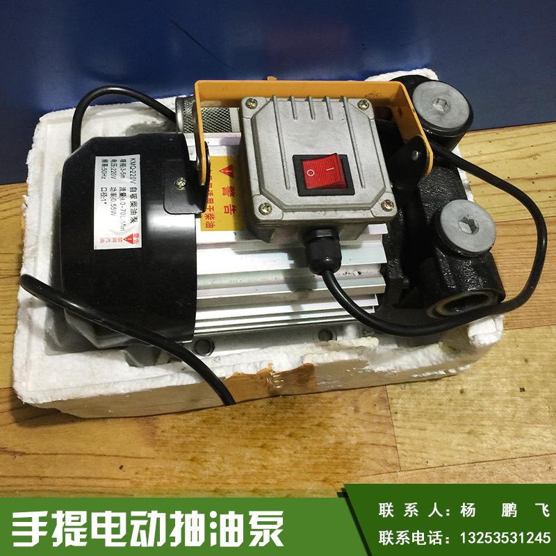 拓邦12v,24v手提电动抽油泵小型车载防爆便携式油泵厂家直销