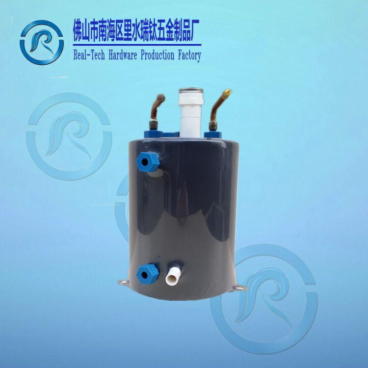 广东佛山厂家直销激光机用钛管蒸发换热器 激光机用钛管蒸发器