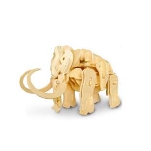 木制3D立体恐龙模型玩具图片