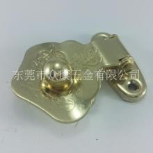 金属仿古锁扣厂家直销搭扣金色扣子搭扣珠宝盒漆器五金