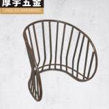 厂家直销户外居家休闲椅铁架 可定制椅架批发 厚宇五金家具配件、 顺德五金铁架厂家直销
