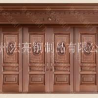 多开铜门 连开铜门 铜门装修
