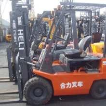 供应二手小吨位柴油叉车 合力1.5吨新昌490二手内燃叉车转让