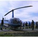 济宁直升机喷洒 婚礼旅游图片