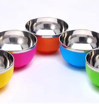 不锈钢碗双层图片/不锈钢碗双层样板图 (2)