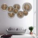 欧式沙发背景墙装饰画图片