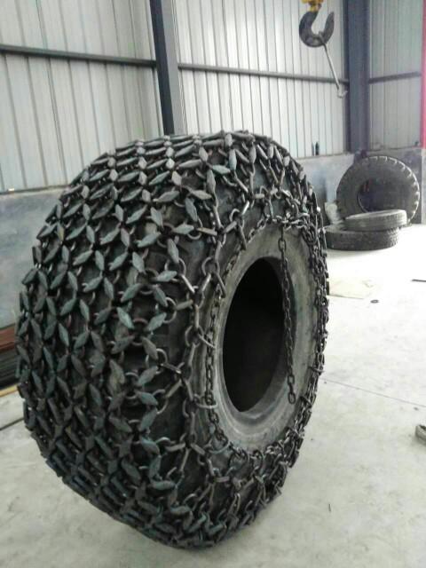 30型隧道机防护链17.5-25铲车轮胎保护链