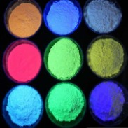 硅橡胶夜光粉图片