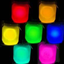 马赛克玻璃烛台专用夜光粉玻璃方形烛台专用夜光粉高温高亮夜光粉批发