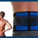 自发热护腰AFT-Y010 弹力蓝黑护腰带厂家直销护腰带 户外健身运动时尚护腰 健身收腹带 户外健身护腰