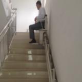 锦州市 葫芦岛市专供启运老年人座椅电梯价格  家庭专用楼梯升降机 斜挂式无障碍电梯